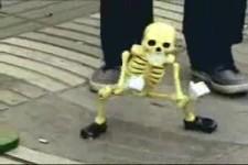 die Skelett-Marionette