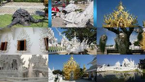 Wat Rong Khun Tempel in Thailand