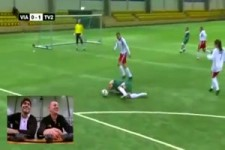 Stromschläge beim Fussball in Norwegen