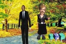 Barack und Angela