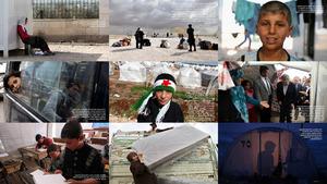 Syrische Flüchtlinge 2012-2013