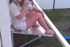 drunken girl