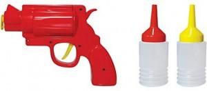 Ketchup-Senf-Pistole!
