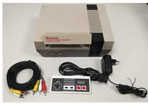 Nintendo Entertainment System-Konsole!
