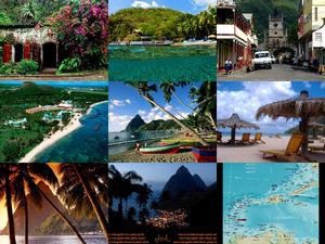 Bilder aus der Karibik: St. Lucia