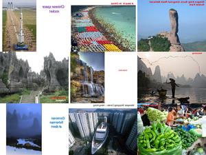 Chinesische Postkarten