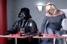 Darth Vader und Heidi Klum