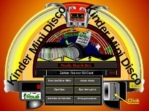 Kinder-Mini Disco-Juke Box Pauli 03