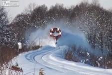 Schneeräumdienst in Kanada
