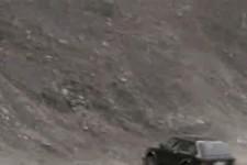 Auto in der Halfpipe