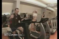 versteckte Kamera im Fitnesscenter