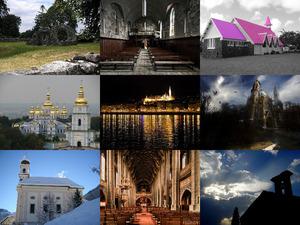 Beeindruckende Aufnahmen von Kirchen