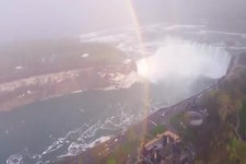 360 Grad Regenbogen an den Niagara Fällen