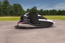 Fahrzeug der Zukunft