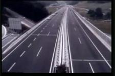 Autobahnchaos in Slovenia