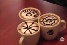 Kaffee-Kunstwerke