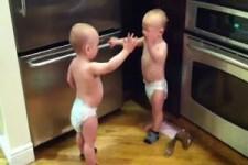 Gespraech zwischen Babies