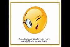 humorvolle Sprüche mit Smileys