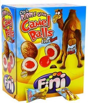 Camel Balls Kaugummi sauer gefüllt!