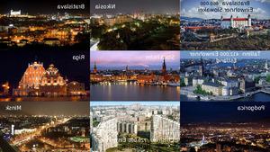 Europa bei Tag und Nacht II