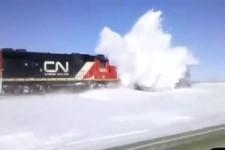 Schienenräumer-Fahrzeug