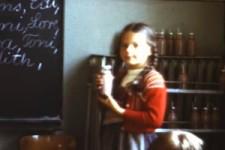 Schulpause mit Kakao 1963