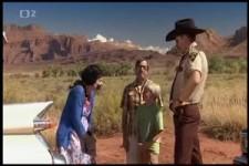Polizeikontrolle auf der Landstrasse in Nevada