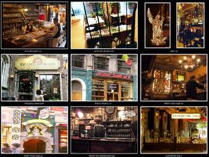 Oude cafes van Brussel