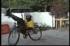 der Fahrrad-Künstler