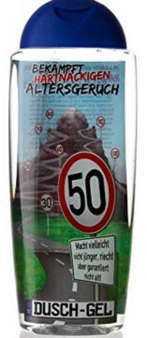 Duschgel gegen Altersgeruch zum 50. Geburtstag!