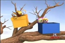 the OWL - die Eule bekommt Weihnachtsgeschenke