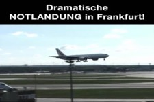 Notlandung in Frankfurt