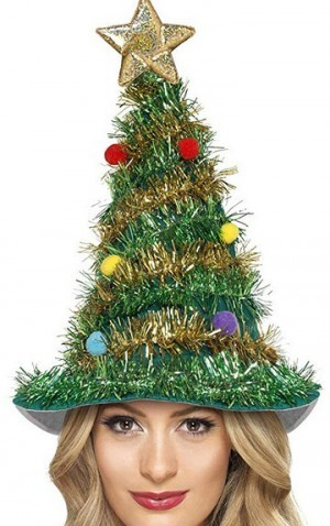Weihnachtsbaum-Hut!