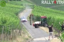 Farmer gegen Rallyfahrer