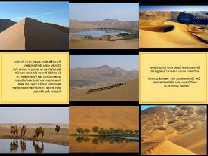 Wüsten Badain Jaran China 1