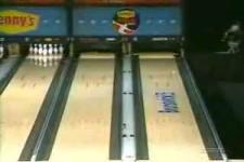unglaublicher Bowlingwurf