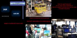 Schulbus in Japan und Indien