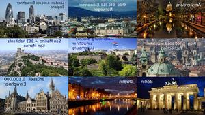 Europa bei Tag und Nacht I neu