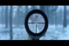 der Jäger im Schnee