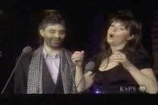 Andrea Bocelli und Sarah Brightman
