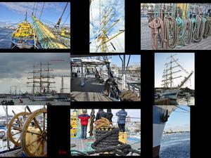 Leben auf dem Segelschiff