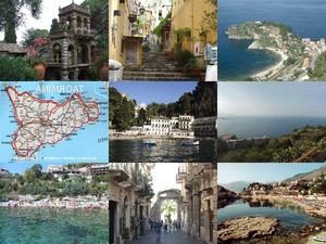 die Stadt Taormina