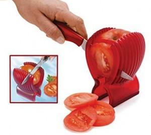 ein Tomatenschneider!