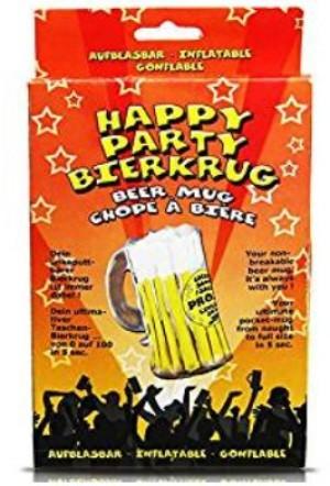 Bierkrug zum Aufblasen!