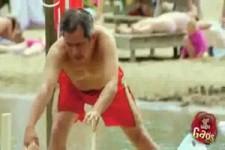 Disabled Man Falls In Water Prank CC