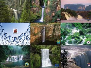 Wasserfälle der Welt