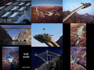 Hoover Damm Brücke