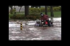 Schlechte Sicht bei Hochwasser ;-)