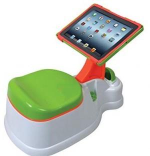 Digital iPotty 2-in-1-Töpfchen mit iPad-Halterung.