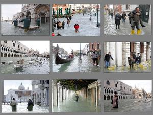 Venedig - unter Wasser